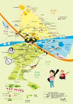 Shimokitazawa English Map