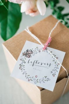 DIY Leftover Takeout Boxes   lark & linen