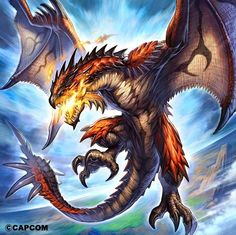 Wyverns in History, Wyvern Myths, Wivern Bringing Myths and Legends to Life. 18 Wyvern or Wivern (pronounced wivan) Monster Hunter Art, Monster Hunter Series, Monster Art, Magical Creatures, Fantasy Creatures, Fantasy Dragon, Fantasy Art, Dragon Medieval, Phoenix Dragon