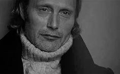 Mads Mikkelsen (Mads + this sweater = the most snuggly thing ever)