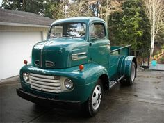 1948-50 Ford COE custom dually pickup truck conversion
