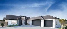 52+ Ideas House Exterior Colors 2019 House Exterior Color Schemes, White Exterior Houses, Exterior Colors, Exterior Design, House Cladding, Exterior Cladding, Building Facade, Building A House, Cheap Houses