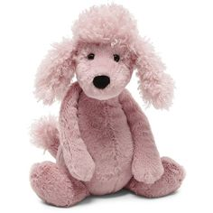 Jellycat Bashful Poodle (29 CAD) ❤ liked on Polyvore featuring accessories and jellycat