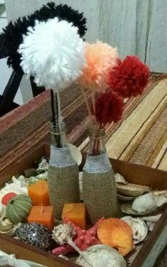 Flores de pompones!!!