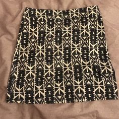 Aztec mini skirt   Silence + Noise Purchased from Urban Outfitters. Worn once. Stretchy mini skirt. Urban Outfitters Skirts Mini