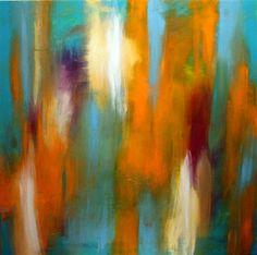 Si entrecierras tus ojos,arte abstracta