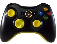 Standard Xbox360 Controller Yellow Out
