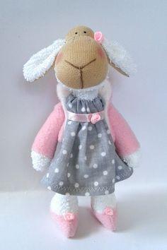 Moje anielskie inspiracje: Mini owieczka