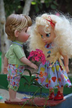 Cute little Couple...Kristoff and Cincerella!