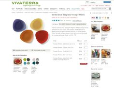 Vivaterra seaglass dishes