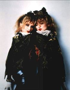 Madonna & Rosanna Arquette (1985). Absolutely fabulous. Rosanna's always so complimentary when it comes to Madonna. It was she that introduced Madonna to Herb Ritts for it was her suggestion to use him to shoot the Desperately Seeking Susan promotional photographs.