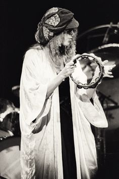 Stevie Nicks of Fleetwood Mac, Rumours Tour, Berkeley Community Theater, 1977.