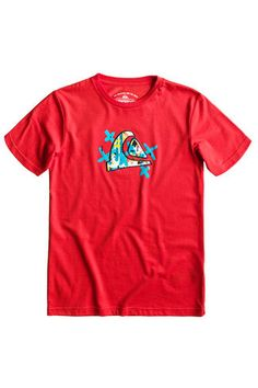 ece1e67ce3002 Quiksilver Short Sleeve Paint Brush Tee Youth Paint Brushes