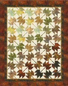 Fall, Leaves, Fall Quilt Kit