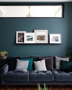 Gallery — Restoring Lansdowne Living Room Lounge, Living Room Colors, My Living Room, Living Room Furniture, Living Room Designs, Living Room Decor, Small Living, Blue Living Room Walls, Blue Bedroom