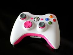 Pinspiration - Cool Painted DIY XBoX 360 Controller  Oh my gosh!!!!!! A gamer wife's ultimate pin!!! :D