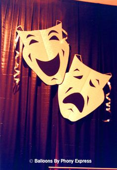 Comedy/Tragedy Masks