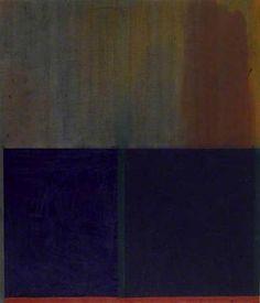 John Hoyland- Acrylic on hessian 84 x 72