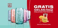 McDonalds Coca Cola Great Deal http://www.perutgendut.com/read/mcdonalds-coca-cola-great-deal/3574 #Promo #Food #Kuliner #McDonalds