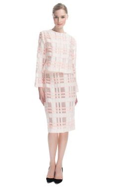 Windopane Confetti Jacket and Skirt from Lorry Newhouse