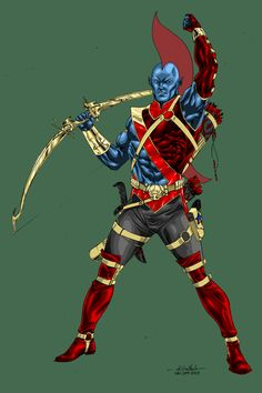 Guardians of the Galaxy's Yondu - turbosuo colors by SpiderGuile on deviantART Marvel Comic Character, Comic Book Characters, Comic Book Heroes, Marvel Characters, Comic Books, Yondu Marvel, Marvel Dc, Yondu Udonta, Gaurdians Of The Galaxy