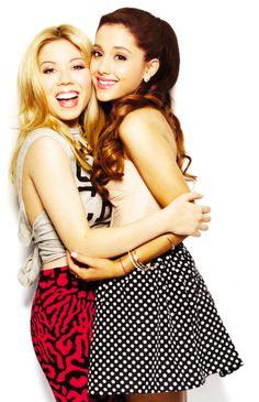 la moda de a Ariana y Jennette