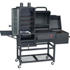 Brinkmann Trailmaster Limited Charcoal Smoker And Grill