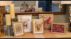 DIY Dollar Tree Holiday Frames How-To