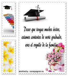 Las 46 Mejores Imágenes De Mensajes Para Graduacion