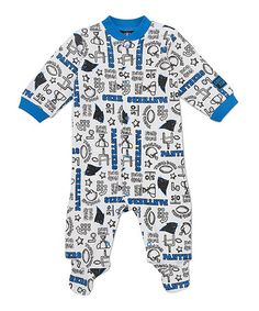 Take a look at this White Carolina Panthers Footie - Infant by NFL on   zulily edb8c1648