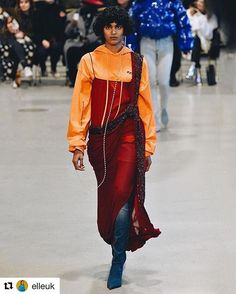 #Repost @elleuk with @repostapp  Anyone that can rock a hoodie under a ball gown is entirely deserving of the #WCW title. No one more so than model of the moment Radhika Nair (@b.y.o.s.d) who became the first Indian woman to walk the Balenciaga (@balenciaga) runway at the #SS17 show and then gave us all of this glory at last nights Vetements (@vetements_official) show. We want to wear this but mainly we want to be her. (: @kristysparow/@gettyentertainment) #WomanCrushWednesday  via ELLE…