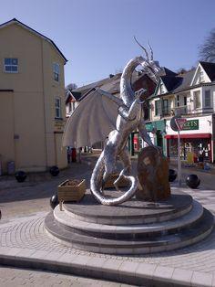 Dragon in Ebbw vale