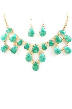 Mint necklace