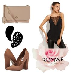 """""""Romwe"""" by sana-clxxv ❤ liked on Polyvore featuring Steve Madden and Vivienne Westwood"""