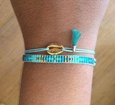 Set of two bracelets miyuki
