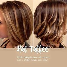 Hot toffee hair