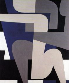 "'Erotic' from the ""Eroticon"" series by Greek artist Yiannis Moralis via WikiArt Art And Illustration, Modern Art, Contemporary Art, Art Sculpture, Greek Art, Art Design, Art Pages, Geometric Art, Erotic Art"