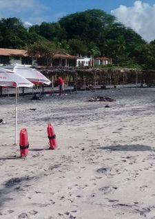 #panama Colocan bandera amarilla en playas de Chiriquí y Panamá Oeste ... - Telemetro #orbispanama #kevelairamerica