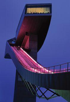 The Paper Architect: Zaha Hadid. Bergisel Ski Jump