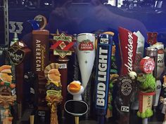 We have great selections of beer taps, tap handles, import beer tap handles, domestic beer handles, keg handles, unique beer tap handles.