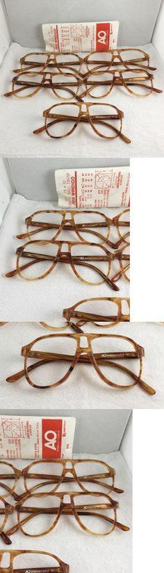 Fashion Eyewear Clear Glasses 179244: 5 Vintage Nos Ao American Optical Plastic Aviator Pilot Eyeglass Sunglass Frames -> BUY IT NOW ONLY: $48.95 on eBay!