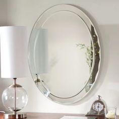 Décor Wonderland Frameless Aldo Wall Mirror - 23.5W x 31.5H in. - Mirrors at Hayneedle