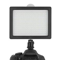 Chromo Inc. 160 LED CI-160 Dimmable Ultra High Power Panel Digital Camera / Camcorder Video Light, LED Light for Canon, Nikon, Pentax, Panasonic,SONY, Samsung and Olympus Digital SLR Cameras  This Chromo Inc LED Light features 160 high-quality LED bulbs. The light panel is powerful enough to fill a room. It'll even put your 'high powered' flashlight to shame! Use the adjustable dimmer switch to change up the brightness and …  Read More  http://good-deals-today.com/product/chromo-in..