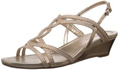 Bandolino Women's GILNORA Wedge Sandal * Visit the image link more details. This Amazon pins is an affiliate link to Amazon.