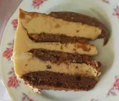 Sós mogyorós karamellás mascarpone mousse torta #2019 Mousse, Cheesecake, Cookies, Baking, Recipes, Food, Kitchen, Diy, Crafts