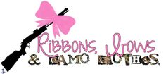 ribbons, bows, and camo
