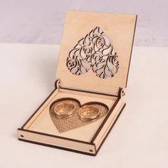 Heart box model puzzle gift decor for home Vector plan of the CNC wood, wooden, vector graphics,laser,DXF Laser Cutter Ideas, Laser Cutter Projects, Cnc Projects, Laser Cnc, 3d Laser Printer, Laser Cut Box, Laser Cutting, Jewelry Box Plans, Gravure Laser