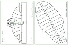Pharaoh headdress template and several other Egyptian templates.