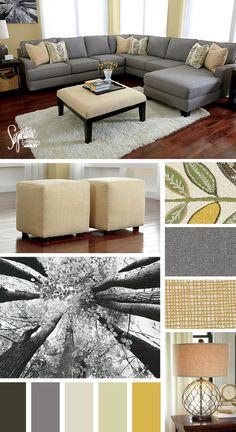 Home Furniture & Decor Home Living Room, Apartment Living, Living Room Furniture, Home Furniture, Drawing Room Furniture, Ashley Home, Home Buying, Great Rooms, Home Furnishings