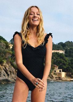 The Sold-Out Swimsuit Fashion Girls Tried to Buy Today via @WhoWhatWear
